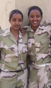 Eritrean Friends in Sawa - Soldiers